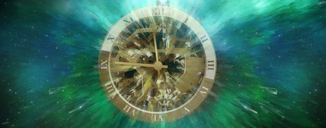 Da klokken gav tegn om noe som skulle skje
